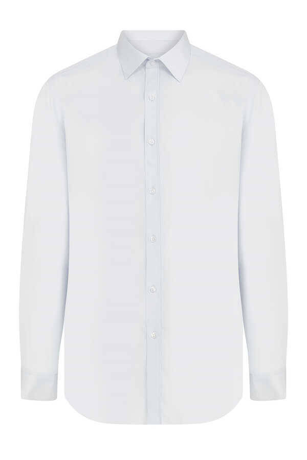 White Plain Dress Shirt