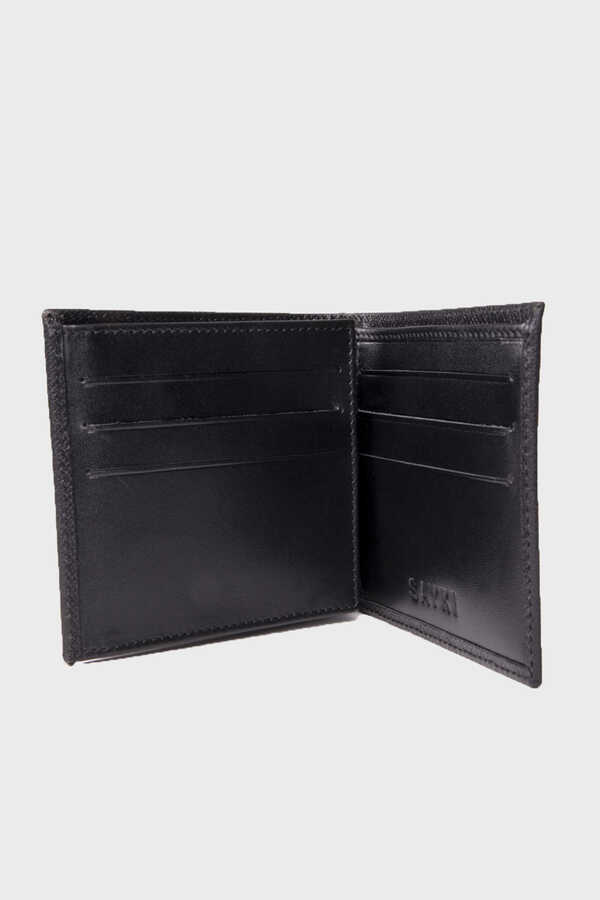 Hatem Saykı - Black Leather Wallet