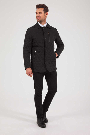 Hatemoğlu - Black Quilted Jacket