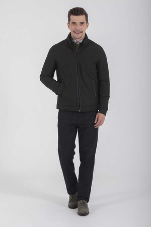 Hatem Saykı - Black Slim Fit Jacket