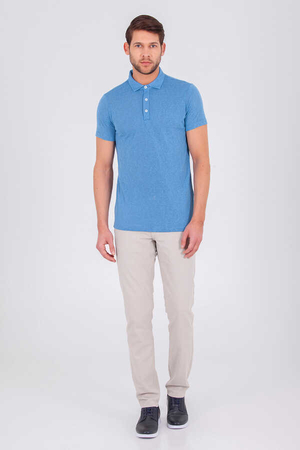 Blue Polo Shirt - Thumbnail