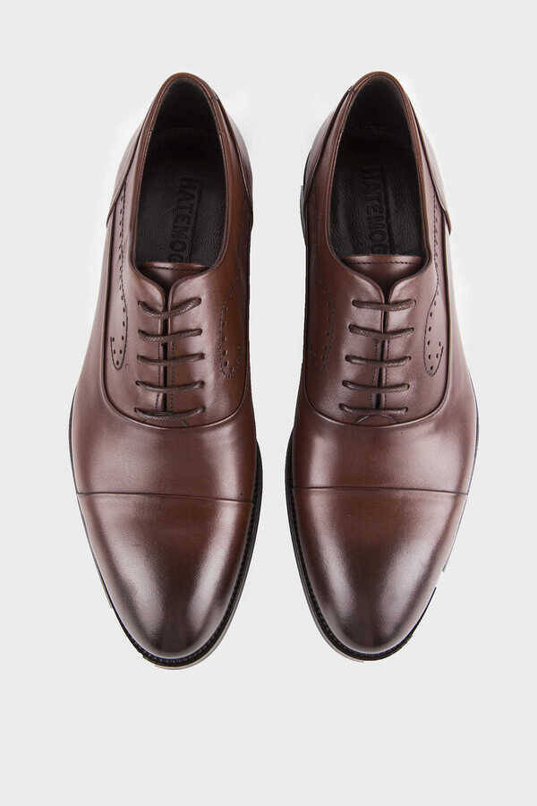 Brown Classic Oxford Shoes