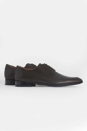 Hatemoğlu - Brown Classic Oxford Shoes
