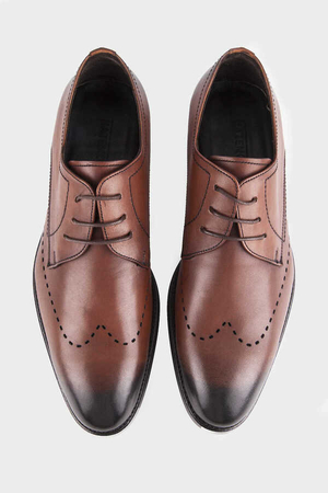 Brown Classic Shoes - Thumbnail