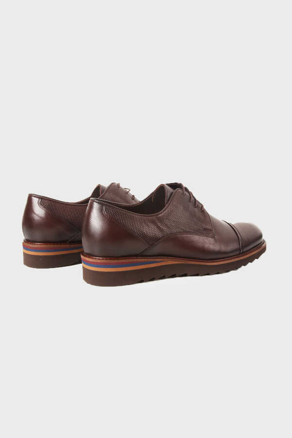 Hatemoğlu - Brown Leather Casual Shoes