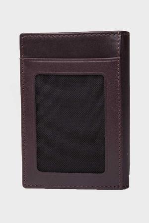 Brown Leather Wallet - Thumbnail