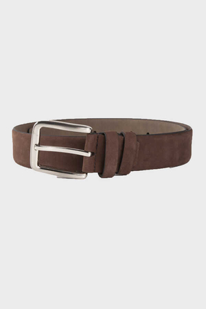 Hatem Saykı - Brown Suede Belt