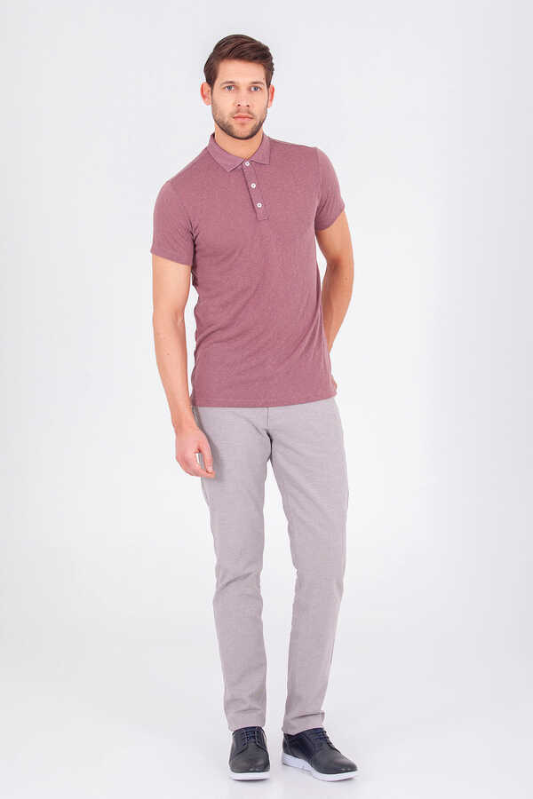 Hatemoğlu - Gray Regular Fit Casual Pants
