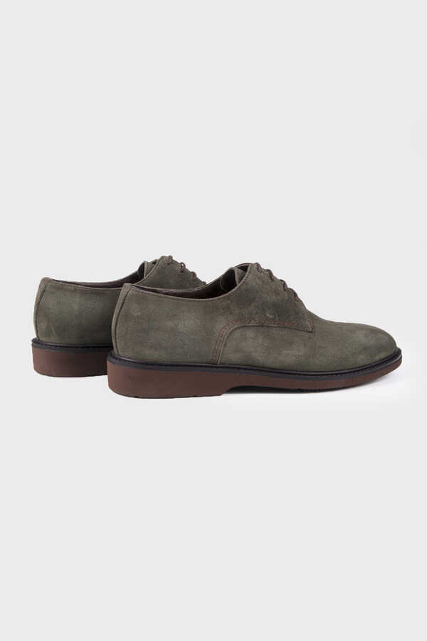 HTML - Khaki Suede Casual Shoes