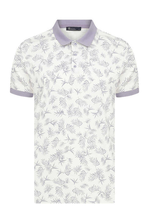 HTML - Lilacc Printed Polo Shirt
