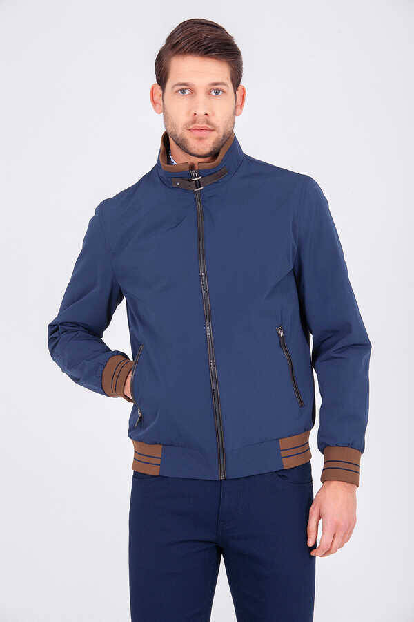 Navy Casual Jacket