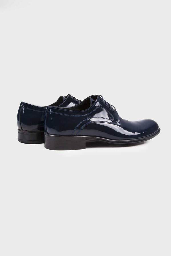 Navy Classic Dress Shoes