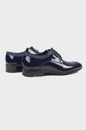 Hatemoğlu - Navy Classic Oxford Shoes