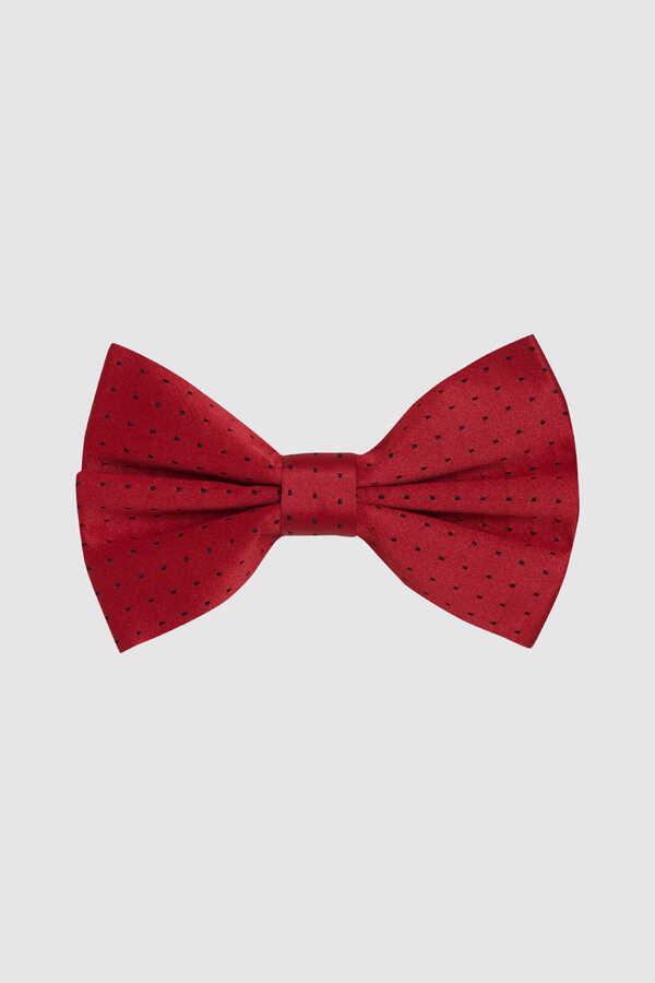 HTML - Red Polka Dot Bow Tie